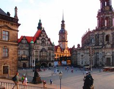 Dresden, Germany - history rich city & location of the 1st Christmas market I ever visited