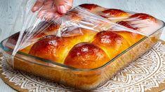 Muffins, Baking Conversion Chart, Croissant Bread, Flan, Pretzel Bites, Biscotti, Deli, Hot Dog Buns, Food And Drink