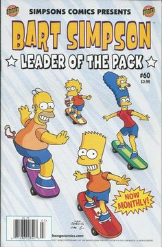 Bart Simpson Leader of the Pack comic issue 60