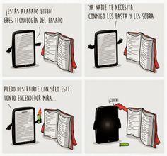 Soy Bibliotecario: 10 razones de por qué un libro de papel es mejor q...