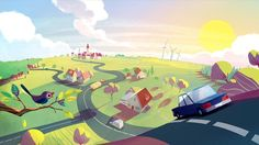 Campaign film for 'Rådet for Sikker Trafik' - the danish counsil for traffic safety. English 40 sec version.  Many people are just speeding a little bit once in a while, but that slight increase in speed can have fatal consequences.  The film is made in co-orporation with danish agency Uncle Grey, and is part of a larger traffic safety campaign by the agency.  A longer, danish version has been up for some time, but we thought non-danish people would like to see a version with understa...
