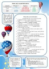 some any worksheet - Free ESL printable worksheets made by teachers