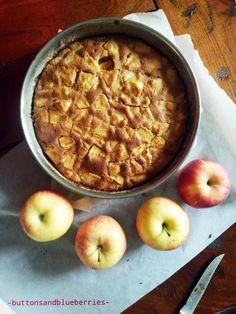 Easy Vegan: Torta infallibile di mele (o pere) della nonna maria- vegan - poco glutine