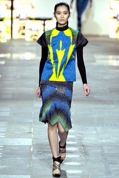 Peter Pilotto - Fall 2012 Ready-to-Wear