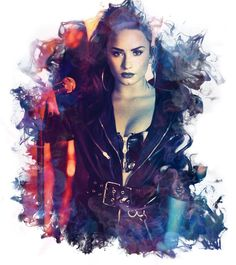 WALL DECOR ART POSTER DEMI LOVATO 1 American Singer A3 SIZE Actress   GIFT