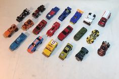 Hot Wheels Mixed Lot of 20 Cars Trucks Race cars - Die Cast And Plastic (A9) #HotWheels