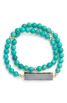 Elise M. 'Nola' Beaded Bracelet available at #Nordstrom
