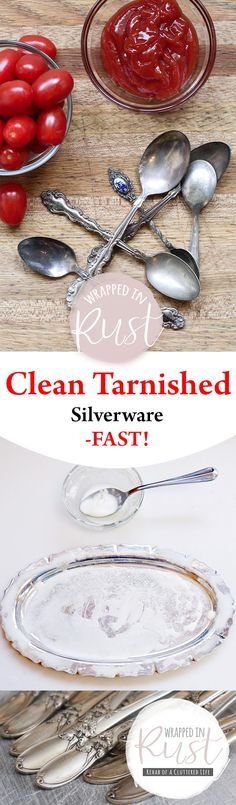 Clean Tarnished Silv