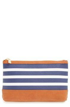 maryanne stripe cosmetics case