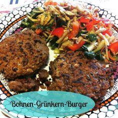 From Veggie to Vegan: Grünkern-Bohnen-Burger