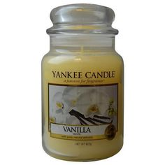 Yankee Candle Vanilla Scented Large Jar 22 oz | Home & Garden, Home Décor, Candles | eBay!