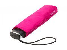 MiniMAX Slim růžový plochý skládací deštník - Značkové deštníky Bloom