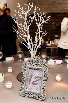 Wedding Luminaries Table Number Luminary Personalized Heart Set Of 12