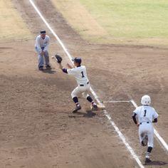 北本高校 vs 本庄東高校 (2014/4/14): ナイス・ベースカバー Sports, Hs Sports, Sport