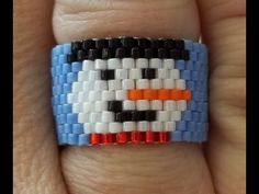 """""""Must Know Monday"""", video from Kelly at Off the Beaded Path for January 16th, 2017. Smiling Snowman Ring Link to Off the Beaded Path's closed Facebook group,..."""