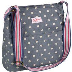 Cath Kidston Spot Washed Messenger Bag (I love polka dots. Cath Kidston Fabric, Cath Kidston Bags, Diaper Bag Patterns, Sweet Bags, Crossbody Bag, Tote Bag, Kids Bags, Printed Bags, New Bag
