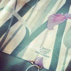 Absolutely love this #vintage Liberty scarf! #vintagefairs #britaindoesvintage #bdvoutandabout #vintagefashion #lovevintage
