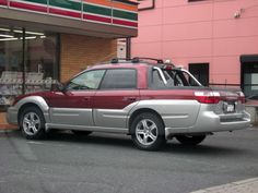 Subaru BAJA- my all time favorite vehicle.  Loved driving this but they quit making them.  This was exactly like the one I had.
