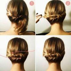 AMAISMENINA: Penteados fáceis de fazer sozinha!!!