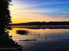 Middle Range Pond Sunrise, Poland Springs ME.