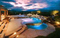 Pool in a triple design #pools Amazing Pools - Community - Google+