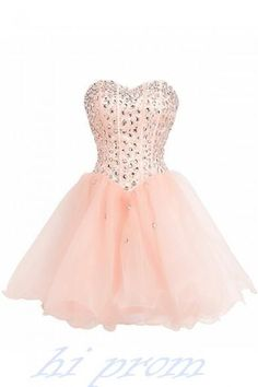 Homecoming Dress Blush Pink Prom Dresses Tulle Homecoming Gowns White Party Dress Short Prom Gown Lilac Cocktail Dress Beading Homecoming Dresses For Teens Blush Pink Prom Dresses, Strapless Homecoming Dresses, Strapless Cocktail Dresses, Tulle Prom Dress, Prom Gowns, Party Dress, Pink Dress, Wedding Dresses, Quinceanera Dresses