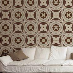 Papel de parede adesivo geométrico - StickDecor   Decoração Criativa