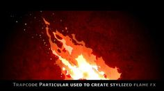 Stylized Fire from Kung Fu Panda - Red Giant