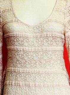 -Tunic Romantic Lace Bell Sleeve - Dresses - Clothing