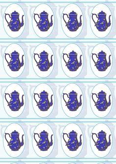 Free printable tea wrapping paper - ausdruckbares Geschenkpapier - freebie | MeinLilaPark – DIY printables and downloads