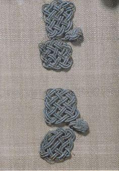 Bj 520 Birka Textile Fragment - posament work.