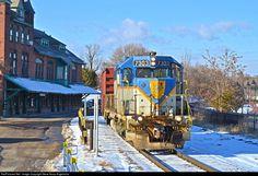 RailPictures.Net Photo: D&H 7303 Delaware & Hudson EMD GP38-2 at Plattsburgh, New York by Steve Koop Angelicola