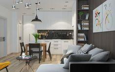 Découvrez 5 exemples pour décorer et aménager un appartement avec une surface de 50m2