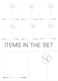 Blume.... by neotericstudio on Polyvore featuring art