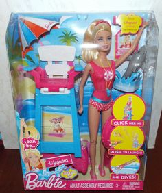 Barbie I Can Be LIFE GUARD Play Set New! #Mattel #DollswithClothingAccessories