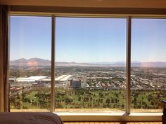 The view from the Encore at the Wynn Hotel Las Vegas. Find out what great deals are on this fall 2015. #travel #budget