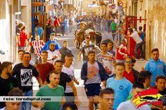 torodigital: Pocas carreras en el encierro de Guadalmena en la...