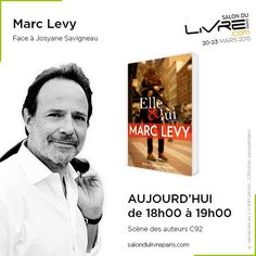 Rencontre avec Marc Levy au #SDL2015