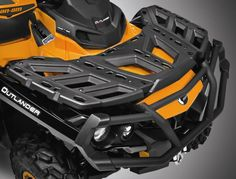 2015 Can-Am Outlander MAX 800R XT-P Rack Front