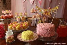 lemonade stand party ideas | Pink Lemonade 1st Birthday Party!