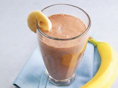 Banana-cocoa soy smoothie. # gastroparesis...yummier than Ensure!