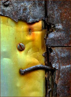 Rust | さび | Rouille | ржавчина | Ruggine | Herrumbre | Chip | Decay | Metal | Corrosion | Tarnish | Texture | Colors | Contrast | Patina | Decay | dontaylor