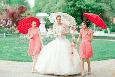 Photoshoot #parasol #wedding