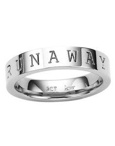 b5498ea0e397 Runaway Stacker Ring in Silver - Karen Walker Jewellery - Shop by Designer