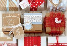 #Brico de Noël: emballages #cadeaux emballants #noel #cdpfetes