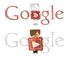 #Google Doodles - Valentine's Day 2012 - Feb 14, 2012