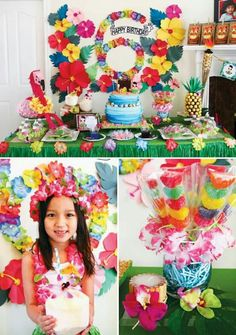 Festa havaiana... inspiração