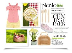 Picnic in the Park by igiulia on Polyvore featuring Topshop, Steve Madden, Kayu, Picnic at Ascot, Lara and picnic