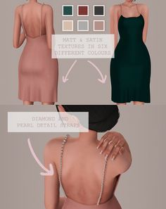 Created by Simplystefi & Lilyssims this sleek dress is perfect for your Sims date night in Sims 4 Mm Cc, Sims Four, Sims 4 Mods Clothes, Sims 4 Clothing, Vêtement Harris Tweed, The Sims 4 Skin, The Sims 4 Cabelos, Muebles Sims 4 Cc, Sims 4 Game Mods