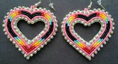 Hearts--- how do you make these? I've seen a whole bunch of them and they look really cool